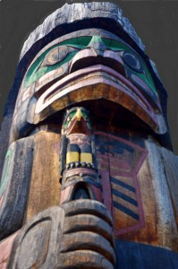 Coast Salish Day - totem pole by john flickr